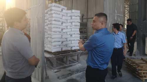 山河集团河南分公司领导参观考察新洁源