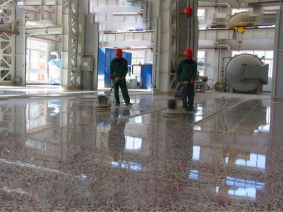 预制水磨石地面抹灰施工步骤