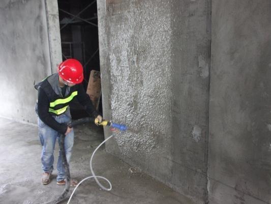 机械喷涂抹灰灰浆联合机故障及排除方法