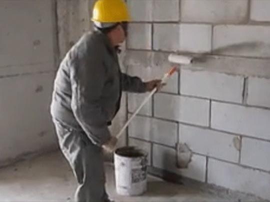 滚涂墙面抹灰施工技术