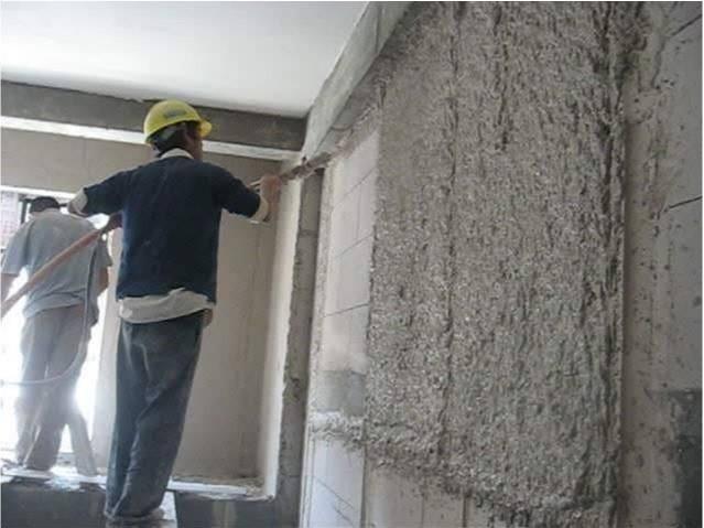 室内墙面抹灰施工准备工作