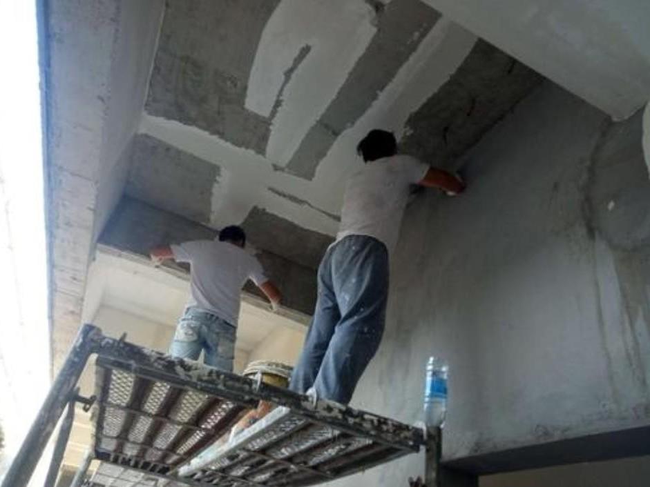 混凝土顶棚抹灰施工步骤